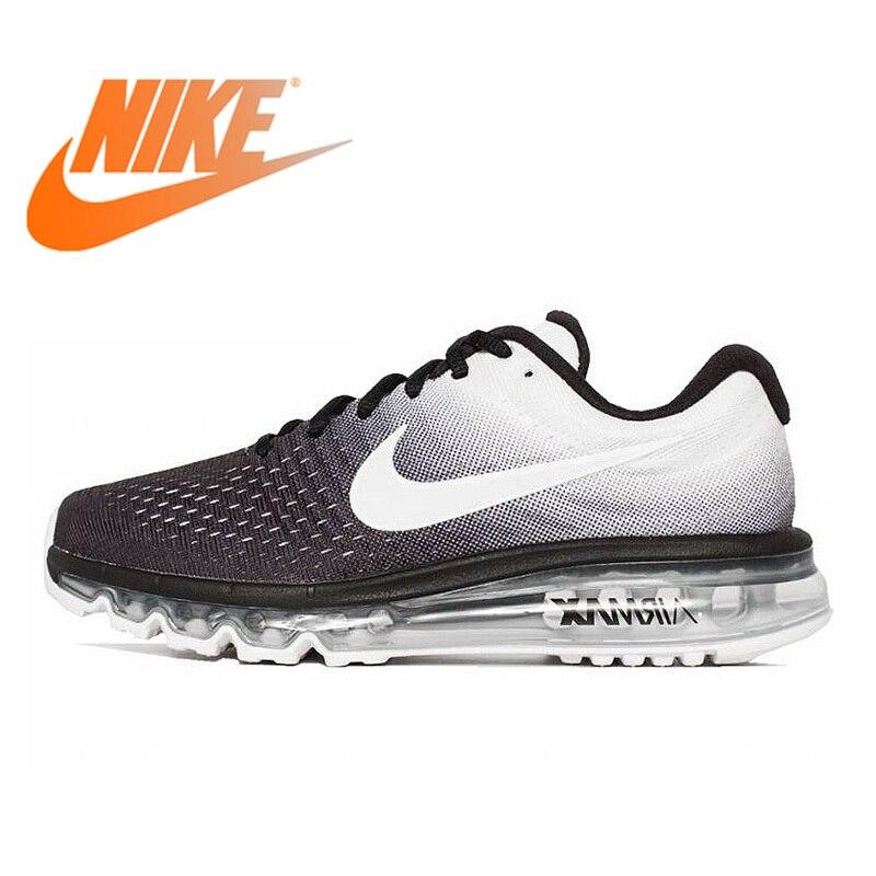 Original auténtico Nike AIR MAX transpirable zapatillas de correr para hombre Deporte al aire libre