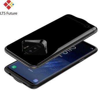 Batterie Del Telefono Samsung | Cassa Di Batteria Esterna Per Samsung Galaxy S9 S8 Più Nota 8 Di Sostegno Portatile Caricatore Del Telefono Accumulatori E Caricabatterie Di Riserva S9 + Copertura Di Ricarica Sottile Sottile