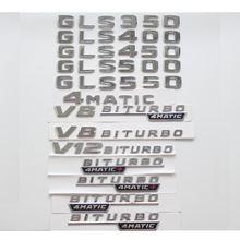 Плоская Хромированная Эмблема багажника с буквами Значки Эмблемы