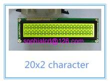 Бесплатная доставка 2 шт. ЖК 2002 20X2 модуль жк-дисплей большой большой размер 146*43 мм HD44780 WH2002M PC2002-L SBS02002C0 AXSC202C