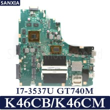 KEFU K46CB/K46CM Laptop motherboard for ASUS K46CB K46CM K46C K46 Test original mainboard I7-3537U GT740M