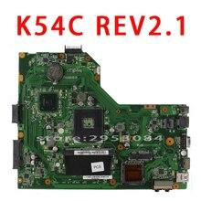 Для ASUS K54C X54C Материнская плата ноутбука K54C REV: 2.1 HM65 PGA989 USB3.0 DDR3 пакеты расширения 60-N9TMB1000 с ОЗУ 100% тестирование Быстрая доставка