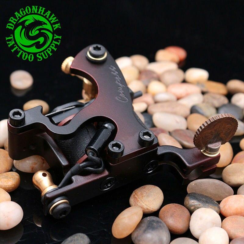 Güzellik ve Sağlık'ten Dövme Tabancaları'de Yeni tasarım pusula dövme makinesi Liner Shader çelik çerçeve bakır bobin dövme tabancası'da  Grup 2