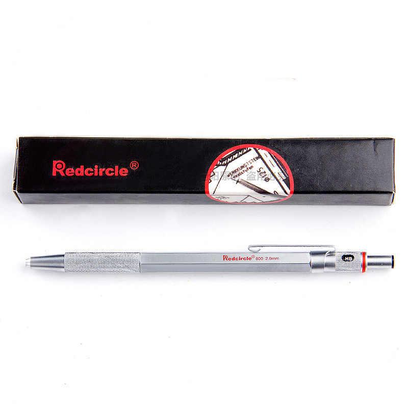 Hohe Qualität 0.5/0.7/0.9/2mm rotring Mechanische Automatische Bleistift RedCircle Ausarbeitung Metall Bleistift für professionelle zeichnung Comic
