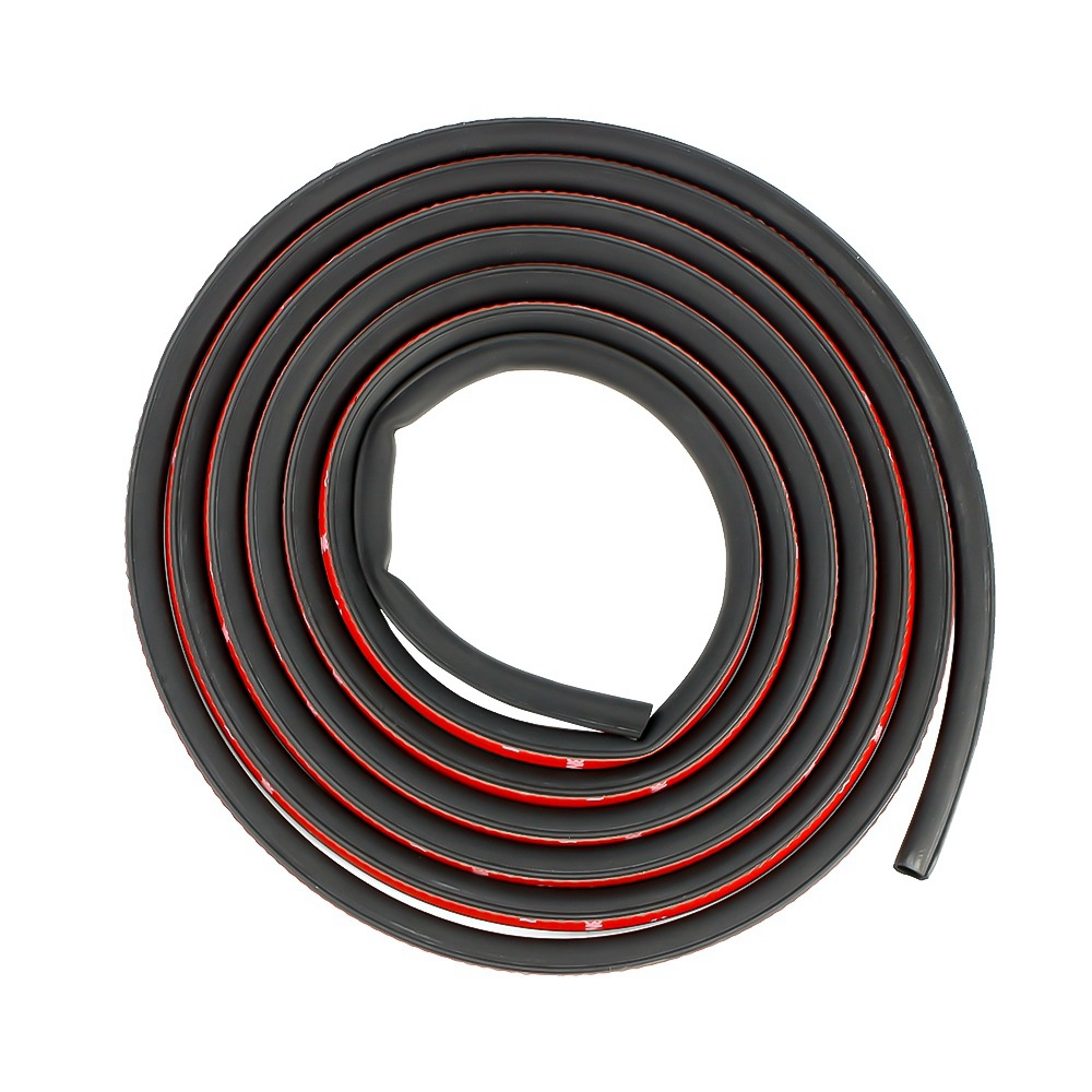 Image 2 - Small D Car Door Seal Strip 2 3 4 Meters Sound Insulation For The Car D Shape 3M Door Seal Auto Rubber Seals-in Fillers, Adhesives & Sealants from Automobiles & Motorcycles