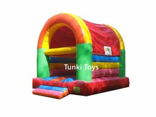 colorful inflatable kiddie bouncer house