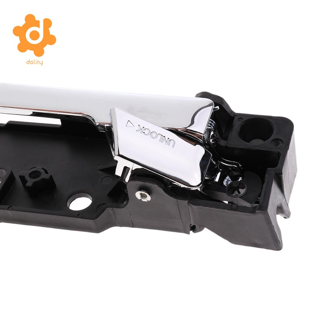 Car Interior Door Handle Chrome Front Passenger Side for 12-06 Fusion Milan