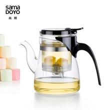Teasaga Samadoyo 600 ml hitzebeständigem Glas Teekanne mit Filter B02 B03