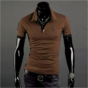 Zogaa New Man Polo Shirt Mens Casual Deer Embroidery Cotton Polo Shirt Men Short Sleeve High Quantity Polo Men Business Shirt 1