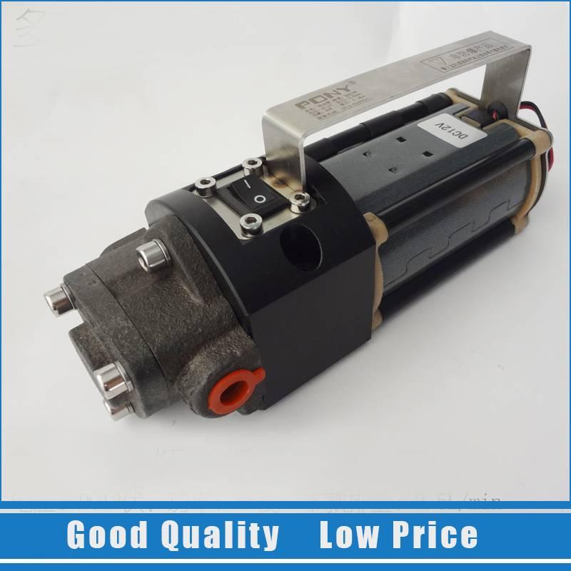 4.5L bricolage 12 V pompe à huile auto-aspiration pompe à huile