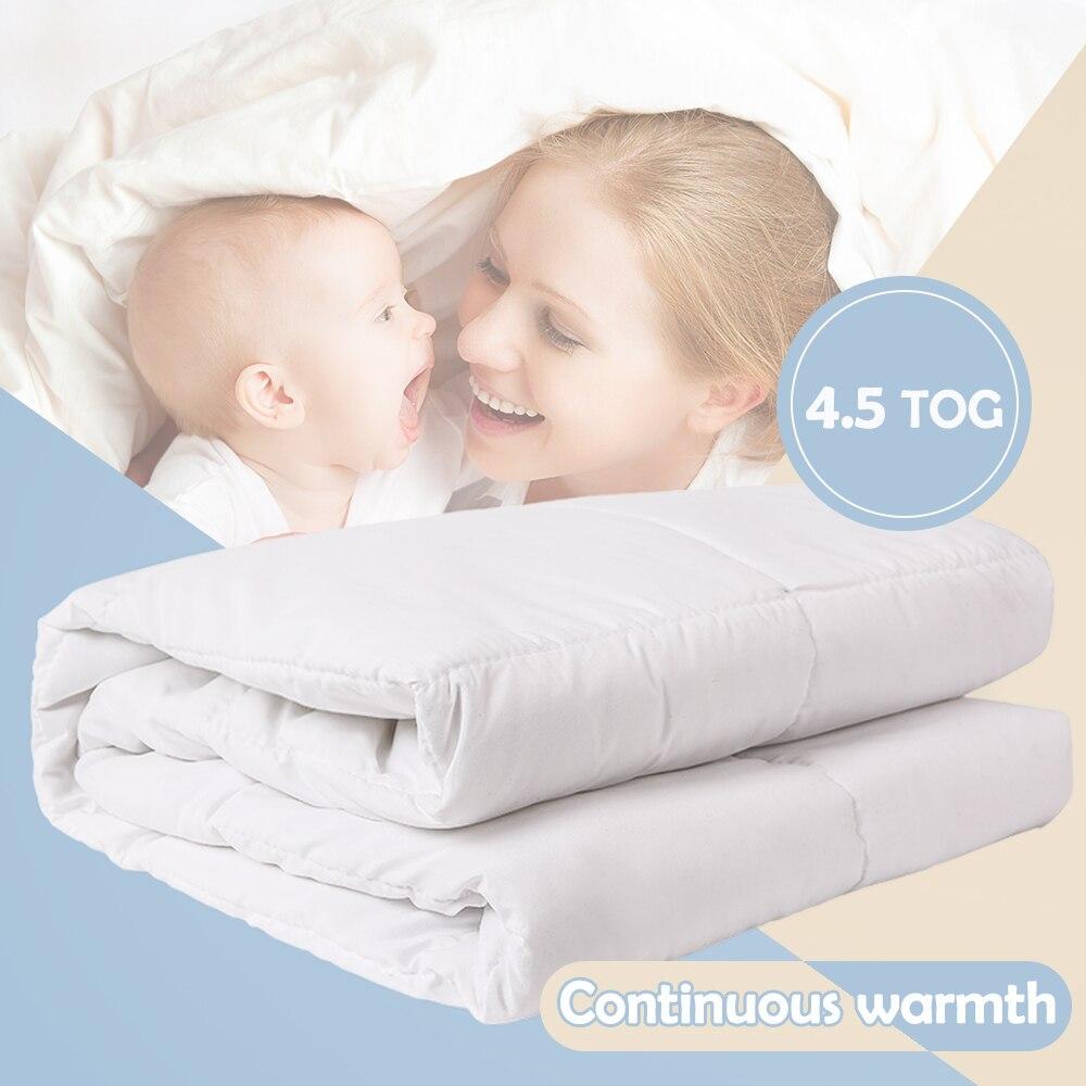 I-baby baby Morbido Piumino 4.5 TOG Infantile Biancheria Da Letto Nursery Quilt Caldo Piumino con Ripieno Culla Set Culla Trapunte coperta 120x150 cm