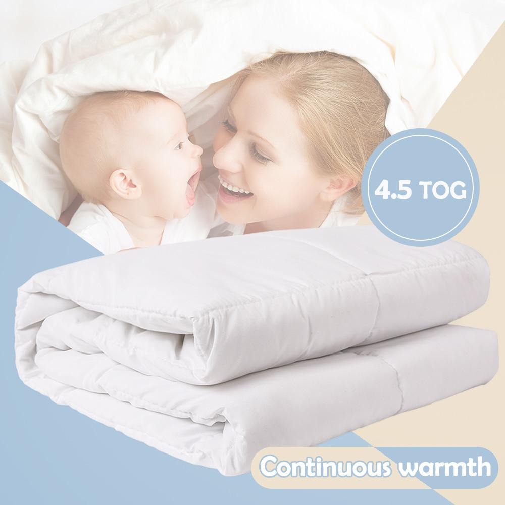 I-baby Soft Baby Duvet 4.5 TOG Oeko Tex Certified Infant Bedding Nursery Quilt Warm Crib Set Cot Comforter Coverlet 120x150cm