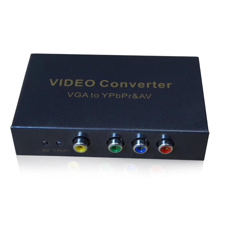 HighTek HK-VTAVY VGA to YPbPr/AV converter support 1080P/60Hz hightek hu 03 universal usb to rs485 422 converter adapter