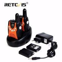 2PCS New Walkie Talkie Retevis RT 602 UHF 446MHz 0 5W 8CH LCD Display Flashlight VOX