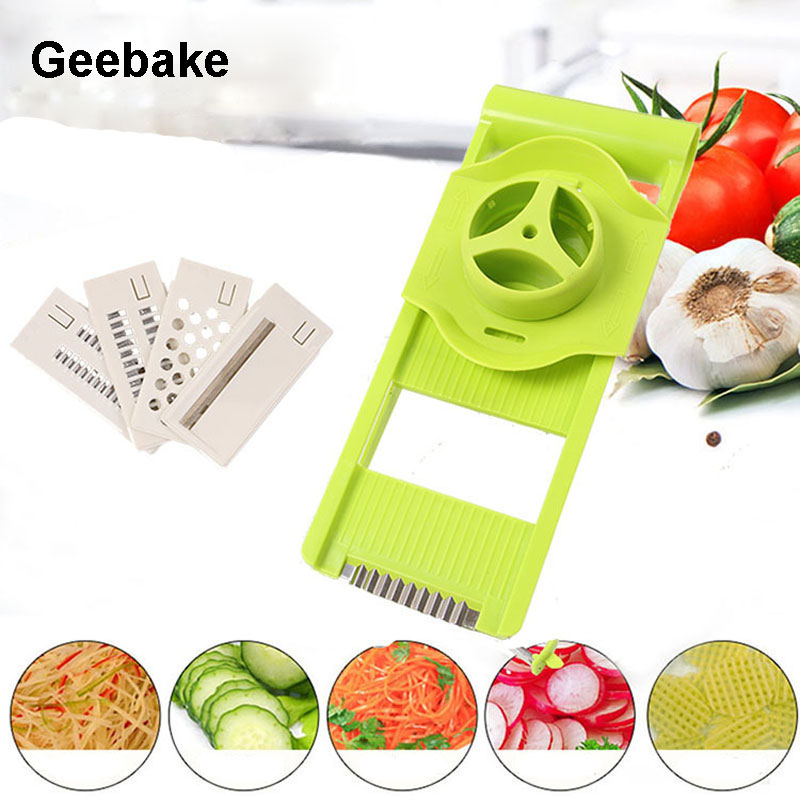 Geebake Kitchen Practical Convenient Gadget Multifunctional Hand-operated Shredder Peel And Shred For Fruits And Vegetables