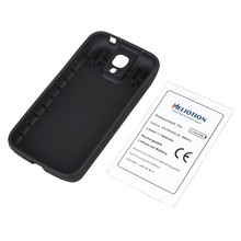 for Samsung Galaxy S4 i9500 Battery High quality 7600mah Replacement Phone Commercial  Battery Cover Back Door Free Shipping