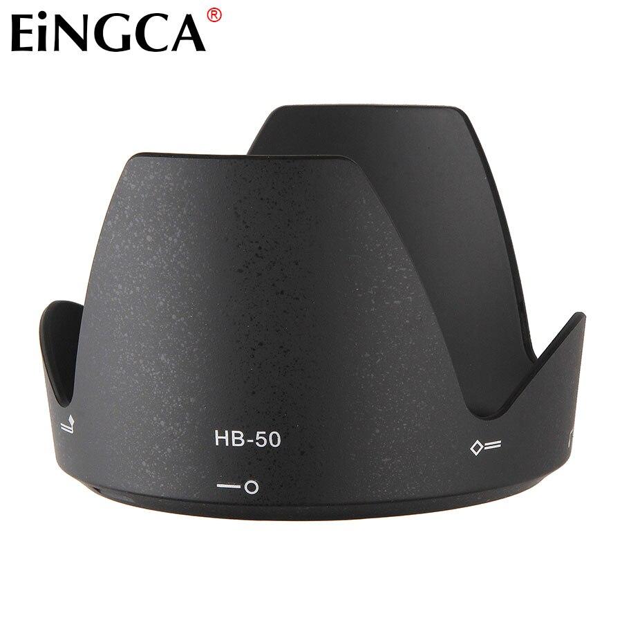 DSLR Camera Lens Hood HB-50 Bayonet Mount Fits for Nikon AF-S 28-300mm f/3.5-5.6G ED VR 77mm Filter Lens