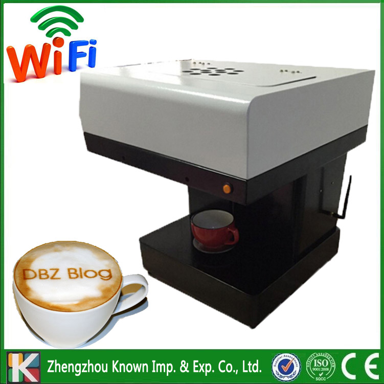 Manufacturer dirctly supply the 2017 hot selling edible ink printer for coffee / food printer / selfie coffee drinks printer can eat ink 2 sets 8pcs x 100ml edible ink for epson canon desk inject printer for cake chocolate coffee