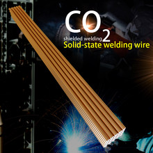 10pcs 20pcs 50pcs 70S-6 1.6mm*330mm Solid Welding Wire Electrode Mild Steel CO2 Ar Gas Soldering Rod No Need Solder Powder(China)
