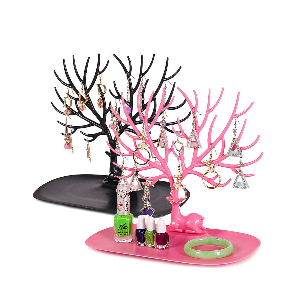 samonica Little Deer Earrings Jewelry Display Stand
