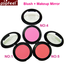 Brand Popfeel Blush Modified Face Blush Mirror Brush Makeup Blusher Beauty