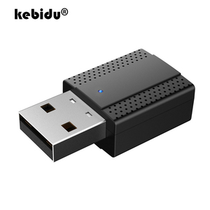 New Bluetooth 5.0 RX TX 2 in 1 Transmitter Receiver Wireless Adapter A2DP USB 3.5mm Jack Car AUX Audio Music for TV PC Headphone(China)
