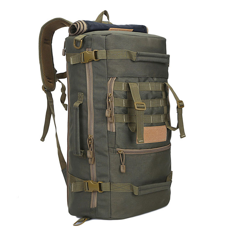 Hot Top Quality 50L New Military Tactical Backpack Camping Bags Mountaineering bag Mens Hiking Rucksack Travel BackpackHot Top Quality 50L New Military Tactical Backpack Camping Bags Mountaineering bag Mens Hiking Rucksack Travel Backpack