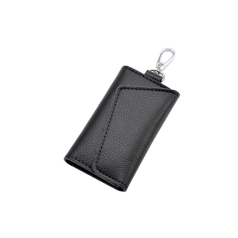Yesello Cowhide Men Card Holder Wallet Key Bag Multifunctional Fashion Women Housekeeper Car key bag