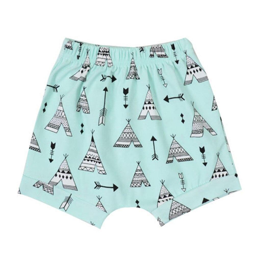 Summer Cotton baby shorts For boys girls Fruit styles stripe animal fox pattern Children PP Shorts Newborn Harem Shorts beach Y3