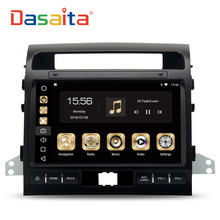 Dasaita 10.2″ Android 8.0 Car GPS Radio Player for Toyota Land Cruiser LC200 2008-2013 with Octa Core 4GB+32GB Auto Stereo