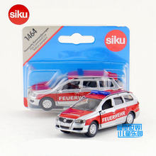 Free Shipping/Siku 1464 Toy/Diecast Metal Model/1:55 Scale/Volkswagen Passat Car Fire Police/Educational Collection/Gift/Kid(China)