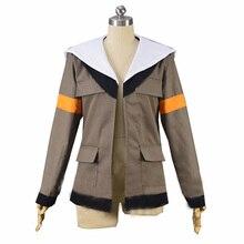 Voltron Legendary Defender Lance Cosplay Costume Hood Jacket For Halloween Carnival Top Coat Custom Made