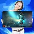 Laptop Keyboard Mats Mousepad Large Size 750*400mm DOTA2 Gamer Gaming Mouse Pad