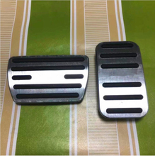 Non-slip Gas Fuel Brake Pedal Foot Pedals Pad Cover For Honda Accord 2014-2017