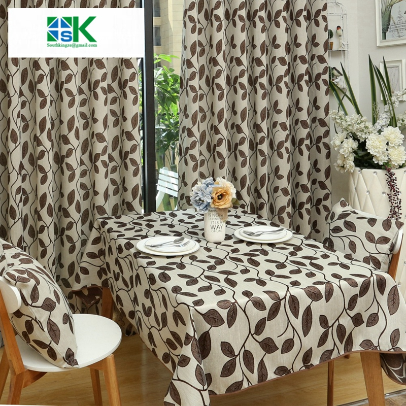 jacquard kitchen table cloths for dining room cotton breakfast elegant