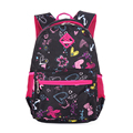 Girls Floral Printing Kindergarten Elementary Outdoor Bag School Backpack Cute Trendy Children Book Bag Student Satchel