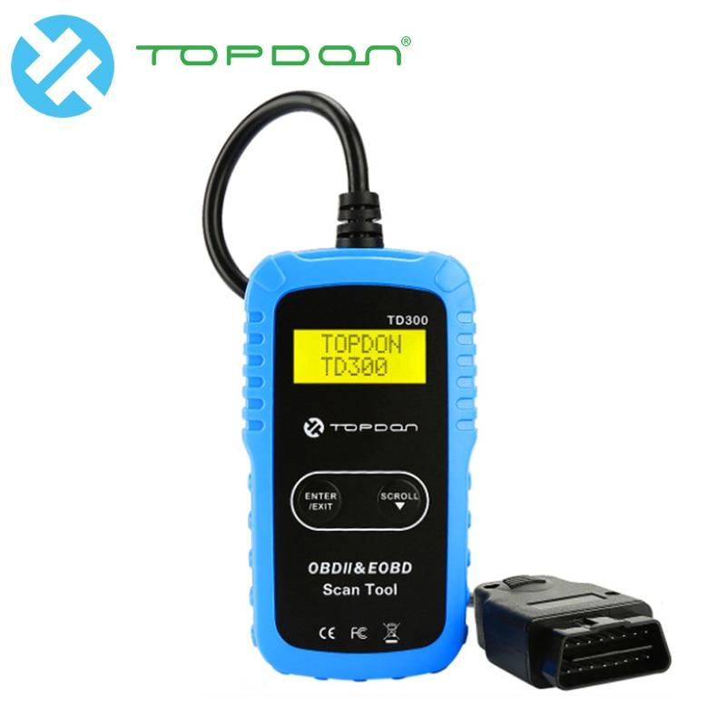 Skoda Superb OBD2 Fault Code Reset Tool Car Diagnostic Reader TOPDON TD300
