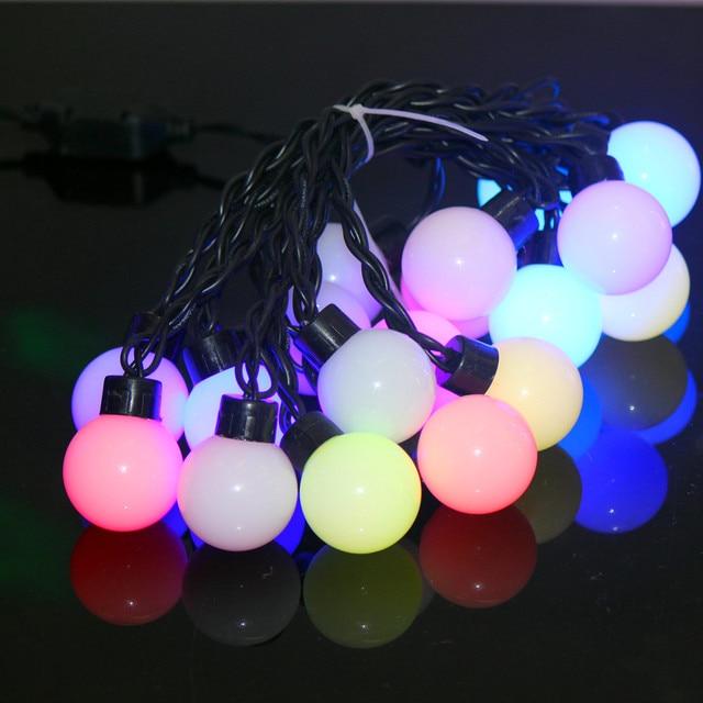 20 Gran Globo Luz de la Secuencia, Dailyart Estrellado LED Luz de Hadas de Luz para el Jardín, de La Boda, Fiesta de Navidad