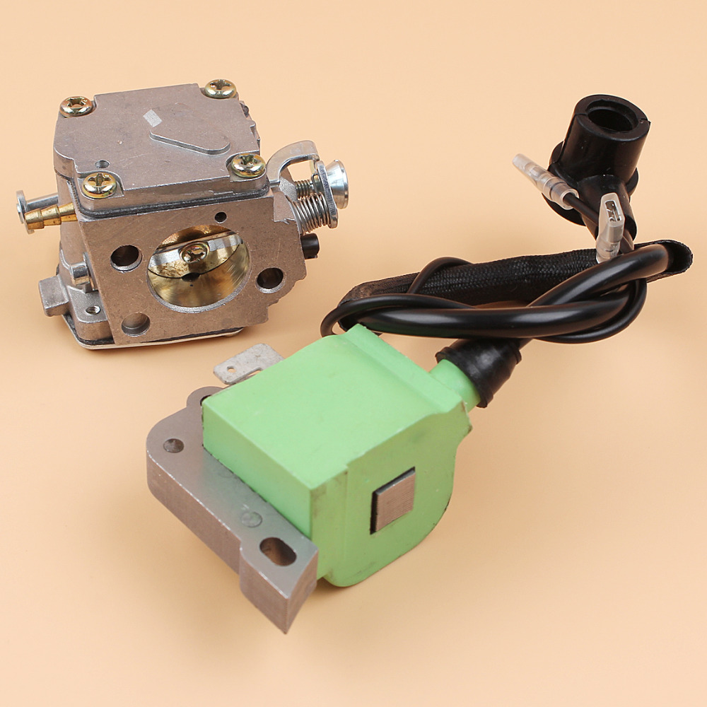 Carburetor Ignition Coil Magneto Module For HUSQVARNA 266 268 272 XP 272XP Chainsaw 503280316 / 503620203 ignition coil fits robin ec08 4 stroke pump trimmer chainsaw stator magneto module parts