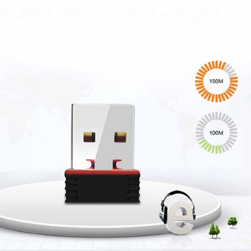 NOYOKERE  Mini USB 2.0 WiFi Adapter N 802.11 B/g/n Wi-Fi Dongle High Gain 150Mbps Wireless Antenna Wi Fi For Computer Phone