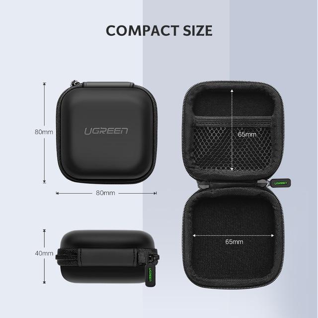 Earphone Hard Case Headphone Bag 4