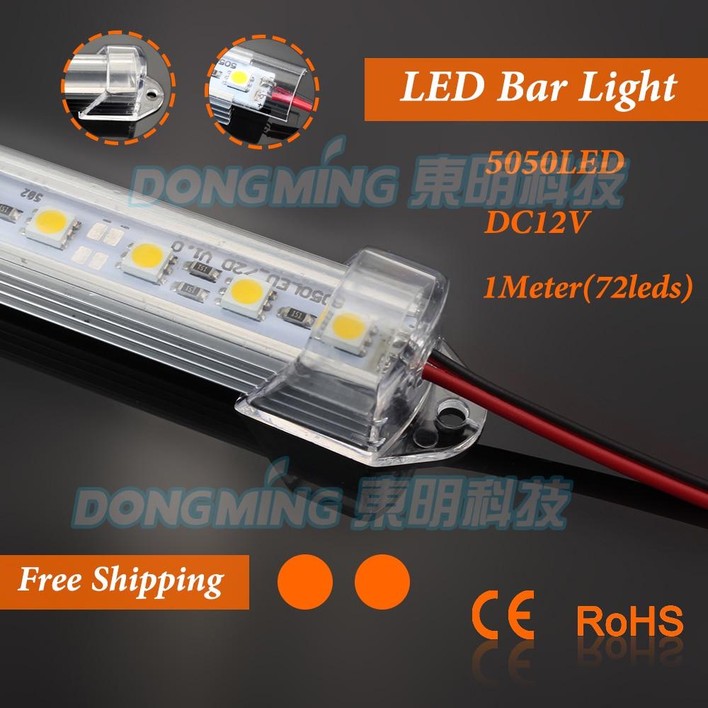 5pcs 1m 12V 72leds lelaki / wanita DC penyambung 100cm dipimpin luces - Pencahayaan LED - Foto 1