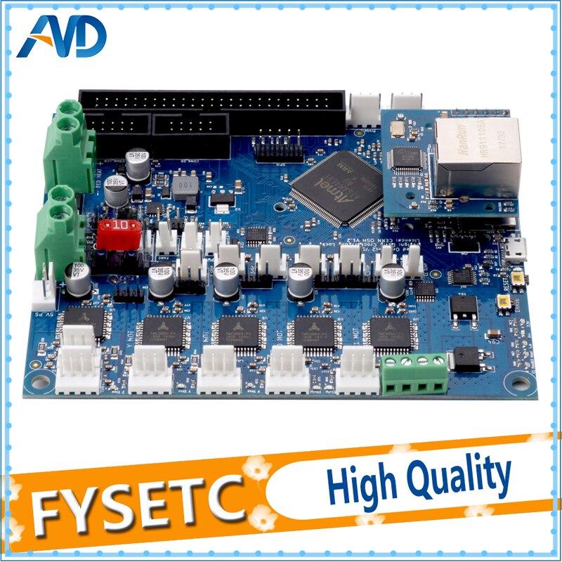Клонировано дуэт Ethernet Расширенный 32 бит электронная доска обеспечивая Ethernet Подключение для Управление из 3D принтеры и с ЧПУ