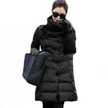 Новый 2016 Зимние Пальто Женщин Куртки Большой Толстый Хлопок Проложенный Подкладка Дамы Вниз пальто