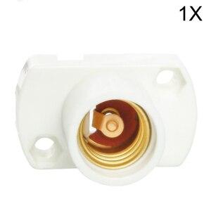 1 шт./лот E12 цоколь лампы E12 держатель лампы гнездо винта испытание на старение держатель E12 подставка для лампы Базовый осветительный аксесс...
