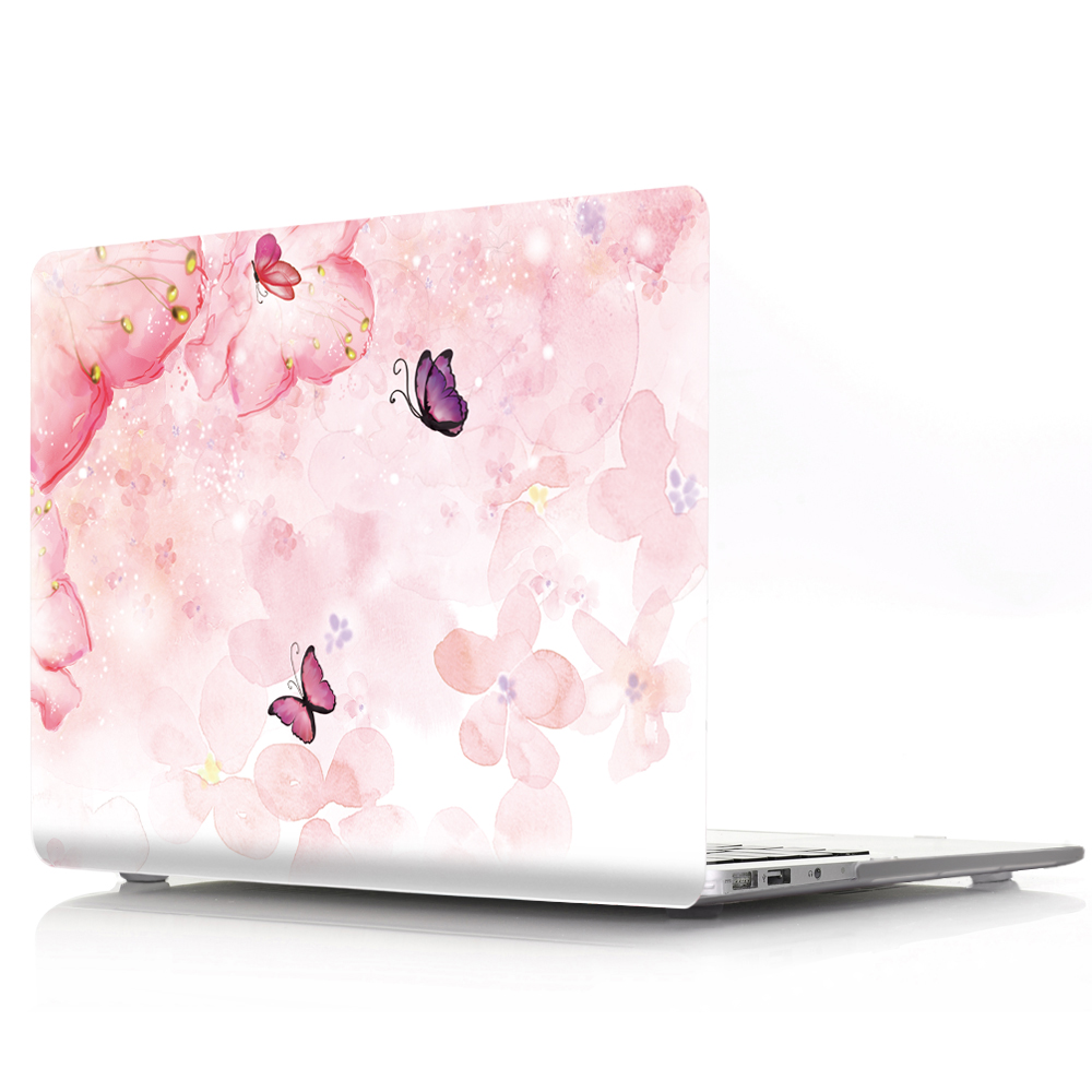 Viviration PVC Hard Charm Protective Laptop Case For Apple MacBook Air Pro Retina 11 12 13 15 for mac book 13.3 15.4 A1707 A1708