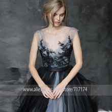 Fluffy Tulle Scoop Neckline Sleeveless Beading Applique Wedding Dress A line Illusion Back Court Train Bridal Dress with A Belt