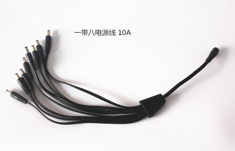 Увлажнитель Запчасти Медь Bold DC1 см 8 мам один до восьми Мощность распределения DC5.5/2,1 мм распыление голова монитор мощность подключения