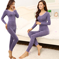 Mulheres inverno quente roupa interior térmica das mulheres ceroulas manga longa Underwears roupa interior térmica Define as mulheres