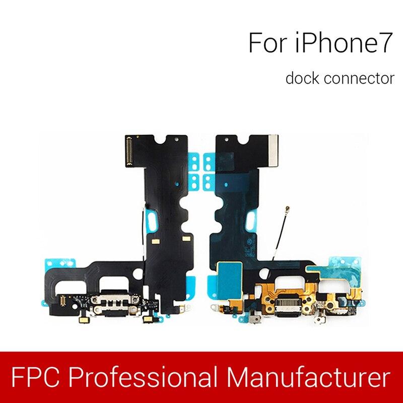 1pc For iPhone 6s 6SPlus 7 7Plus 8 8plus 4.7″ 5.5″ USB Charging Port Dock Connector Flex Cable Fix Replacement Parts